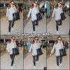 Jen à l'aéroport - le 22 Septembre -
