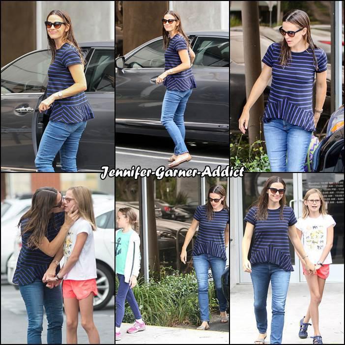 Jen avec Violet et Séraphina - le 23 Aout -