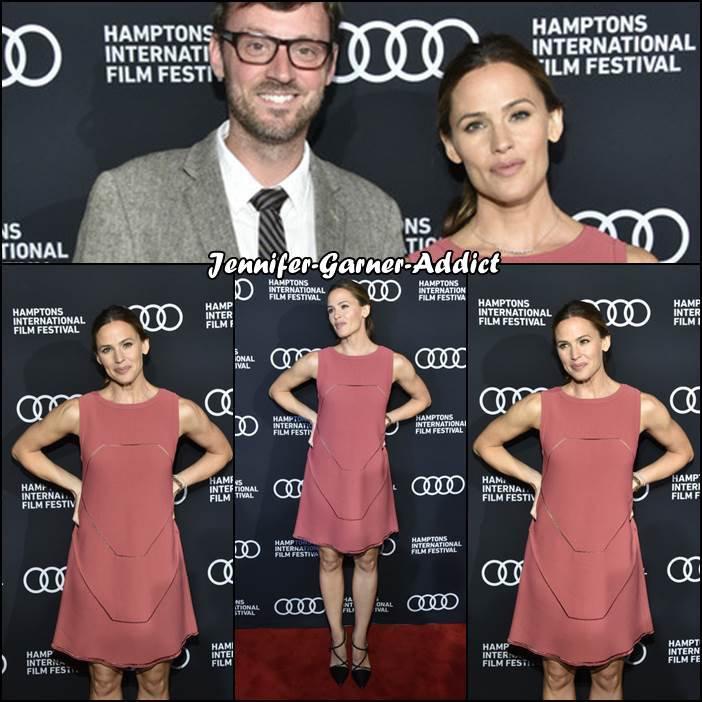Jen a participé au Festival international du Film dans les Hamptons pour le film Tribes of Palos Verdes - le 6 Octobre - et elle a fait un partage Instagram également