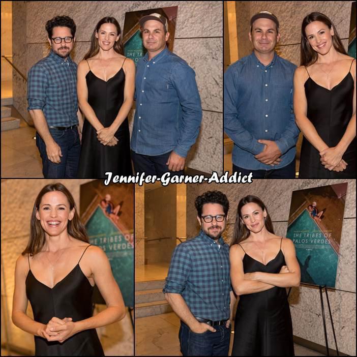 """Jen à la présentation de """"The Tribes Of Palos Verdes"""" au the Ray Kurtzman Theater à Los Angeles - Le 24 Novembre -"""