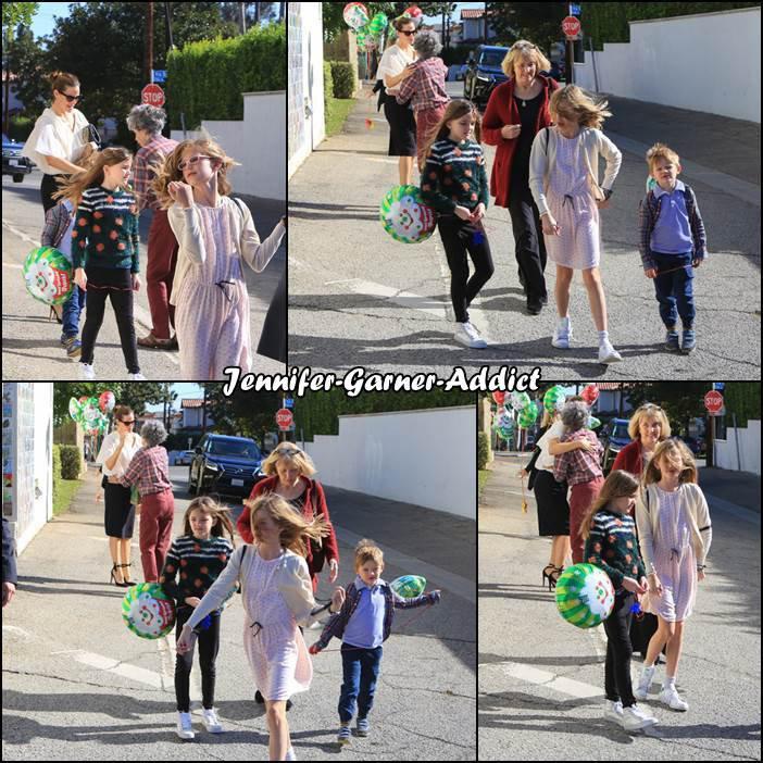 Jen et les enfants sont allés à l'église - le 17 décembre - dernière apparition de l'année 2017
