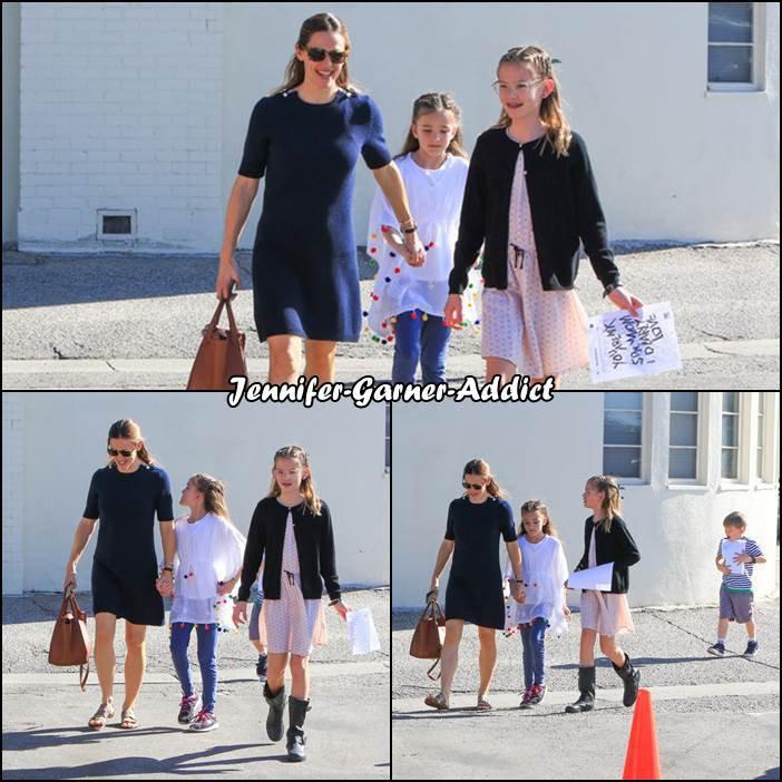 Jen et les enfants sont allés à l'église - le 14 Janvier -