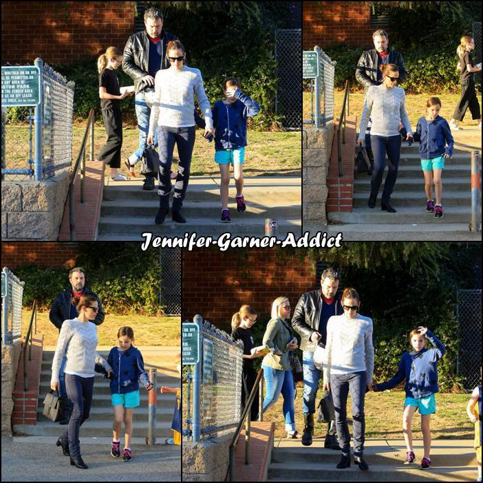Jen, Ben, Séraphina et Samuel se sont rendus à une activité familiale - le 27 Janvier -