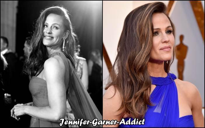 Jennifer est aux oscars!! - le 4 Mars - j'étais persuadée qu'elle n'y était pas, je ne l'ai même pas vue sur le tapis rouge sur Canal + et pourtant je la guettais !!