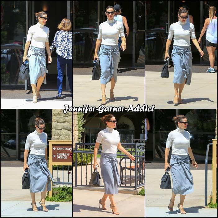 Jen a été à l'église - le 10 Juin -