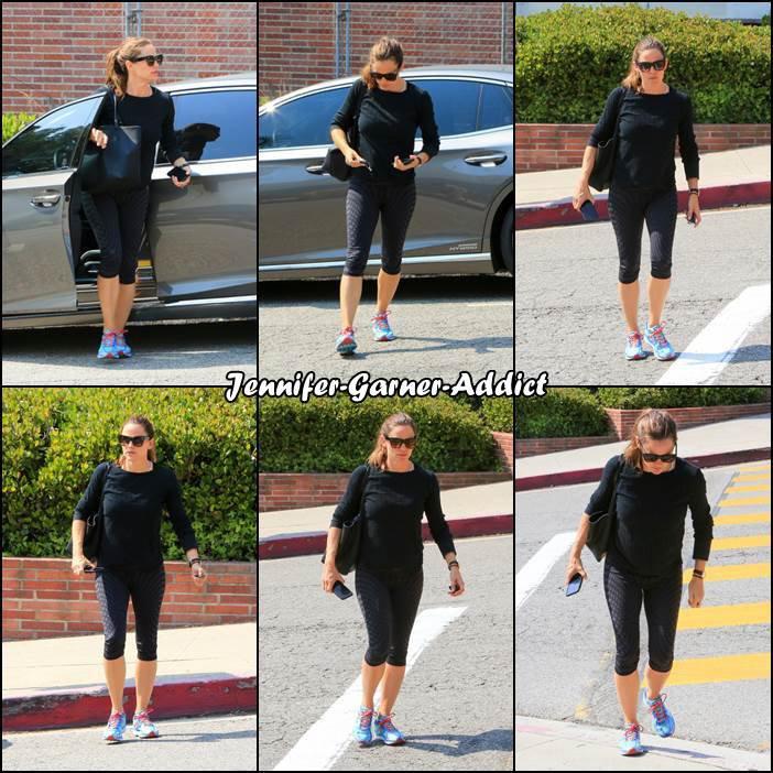 Jen a été à la gym - le 11 Aout -