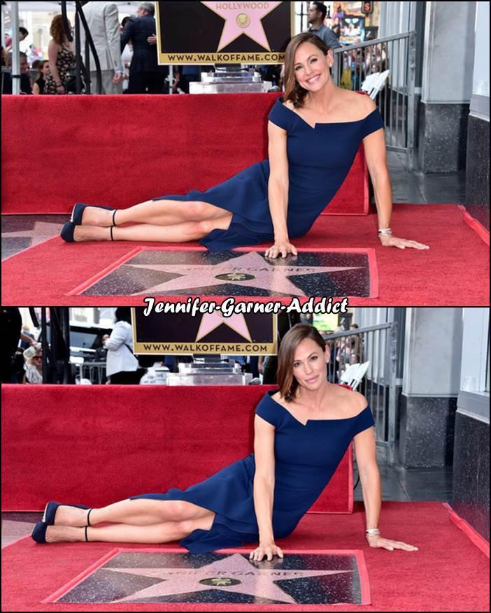 Jen a son étoile sur Hollywood Boulevard! Elle a le numéro 2641 !! - le 20 Aout -