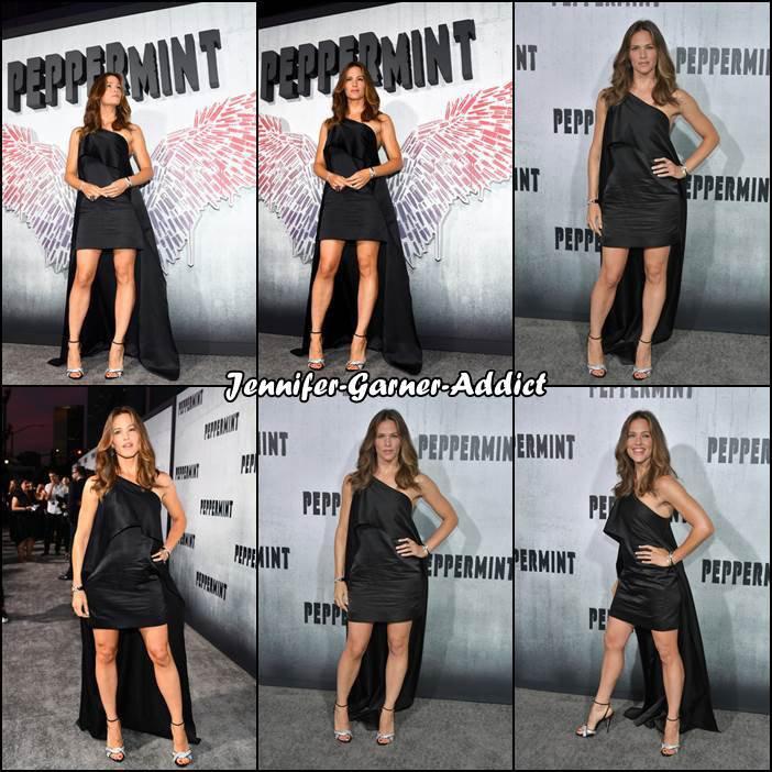 Jen à la première de Peppermint à Los Angeles - le 28 Aout -