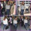 Jen à l'aéroport de Los Angeles - le 18 Octobre -