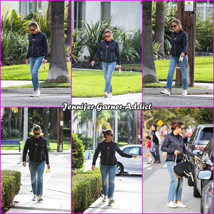 Jen a amené les enfants à l'école - le 28 Novembre -