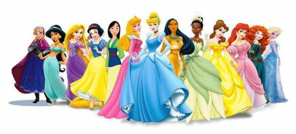 les princesse disney
