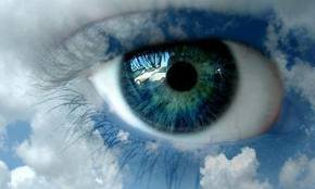 Tes yeux.