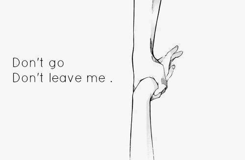. . Cher moi, ne me laisse pas tomber.. .