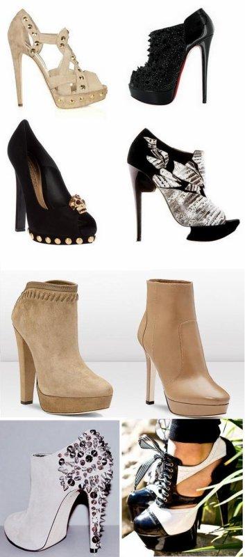 Quelques-unes de mes Chaussures préférées