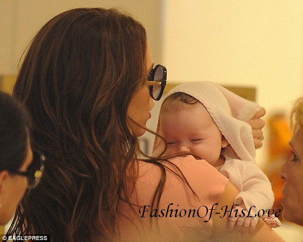 Victoria & Harper Seven Beckham ♥