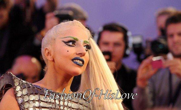 Lady GaGa en Paco Rabanne @ MTV EMA 2011 ♥