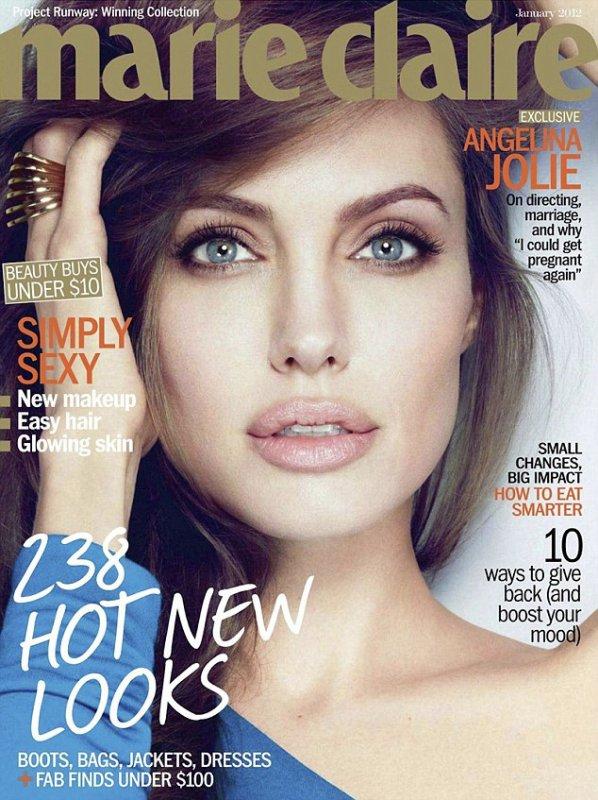 Angelina Jolie pour Marie Claire