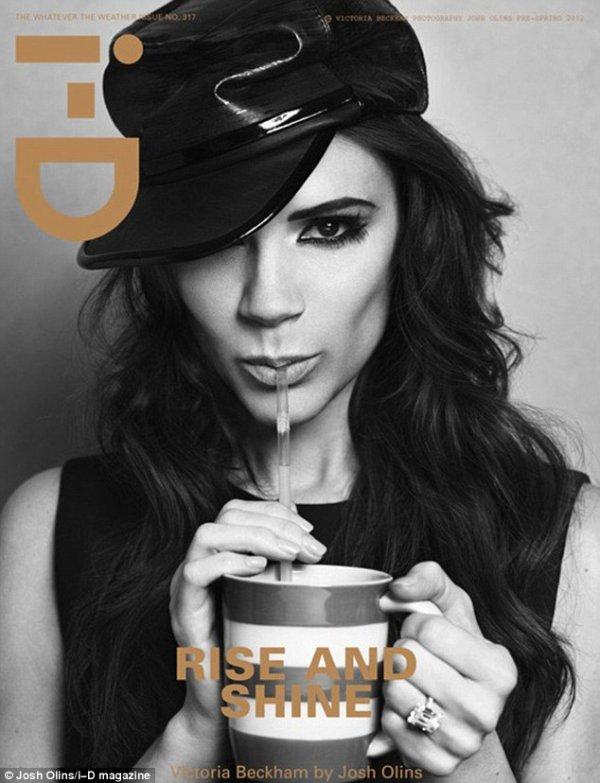 Victoria Beckham pose pour i-D Magazine