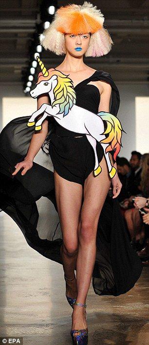 Jeremy Scott - NYC Fashion Show ♥