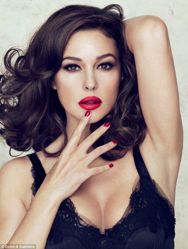 Monica Bellucci, Beauté Italienne ♥