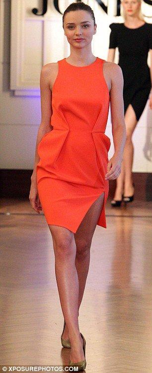 Miranda Kerr défile pour David Jones - Automne / Hiver 2012 ♥