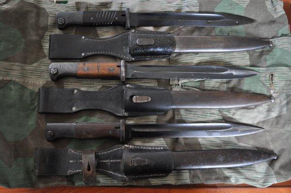 Baïonnette 84-98 (Seitengewehr 84-98 (Modell 1933)