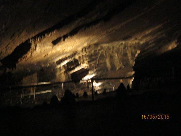 Les grottes de Han-sur-Lesse (magnifiques créations du calcaire et de l'eau)