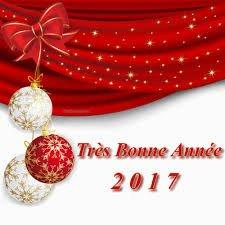 BONNE ANNEE 2017 A TOUS GROS BISOUS MURIELLE
