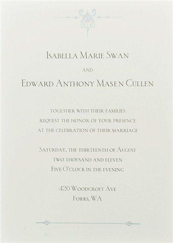 mariage et une lettre