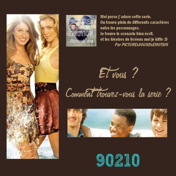 Rubrique : Les Séries  Mercredi 9 Février.