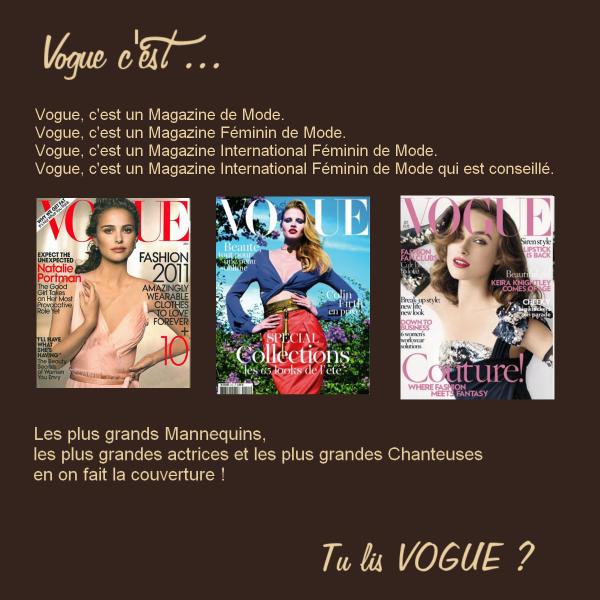 Rubrique : Le Magazine  Vendredi 18 Février.