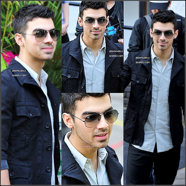 "JosephWorld 29.06.2011 :__Joe sortant des studios de l'émission "" ITV "" à Londres.____ JosephWorld"