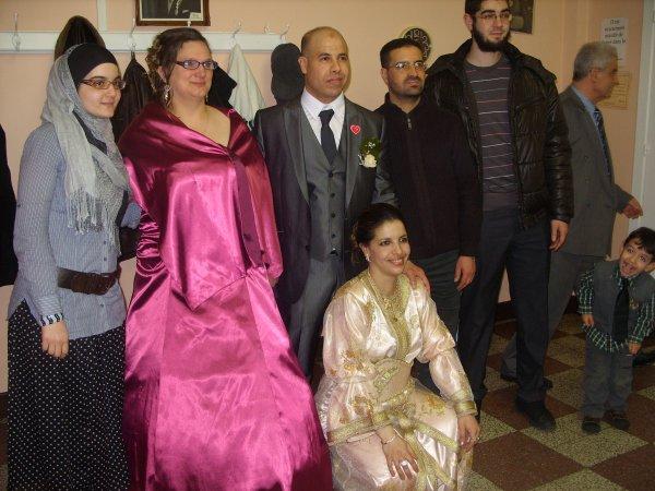 mariage de sabine et jaouad