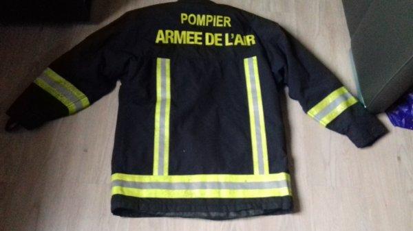 Veste textile des pompiers de l air