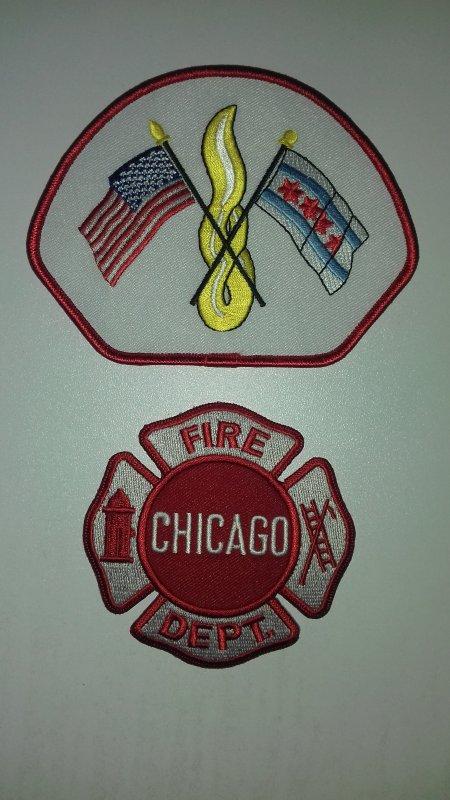 Ecussons pompiers de chicago