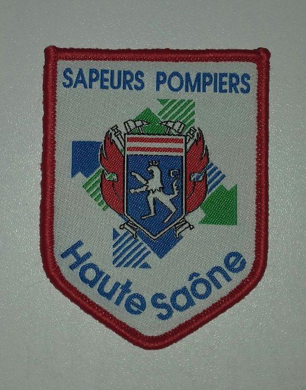 Ecusson pompiers Haute Saône