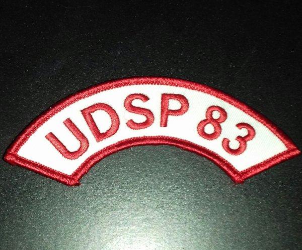 Ecusson banane UDSP 83 var