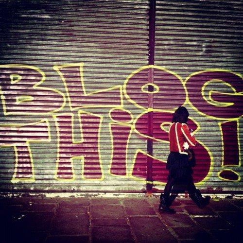 Blog this