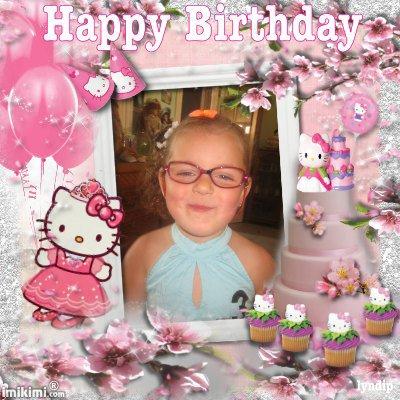 229 joyeux anniversaire à ma petite fille LEA