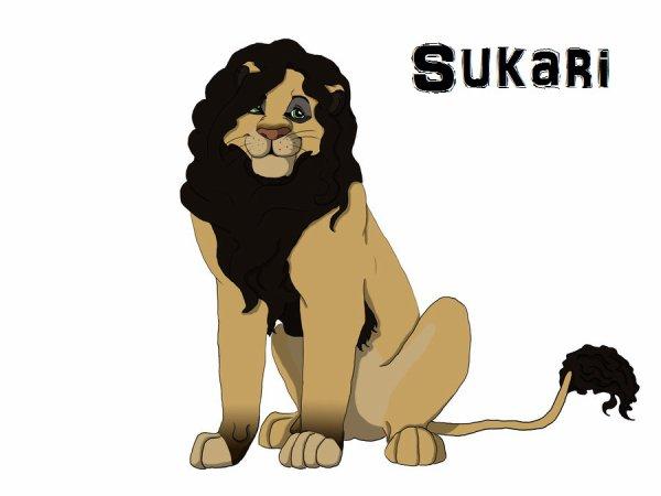 Maintenant je suis Sukari ^^ (dans un F0rum sur le R0i Li0n)