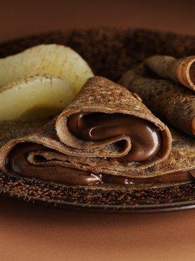 """"""" Crêpe au Chocolat ( Recette Spécial Chandeleur ) """""""