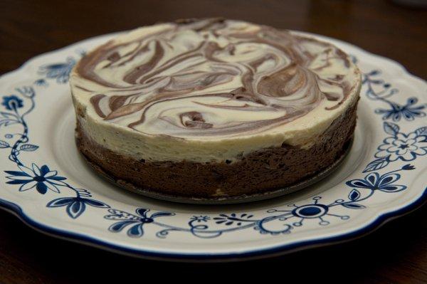 """ Marbré Chocolat Blanc & Chocolat Noir """