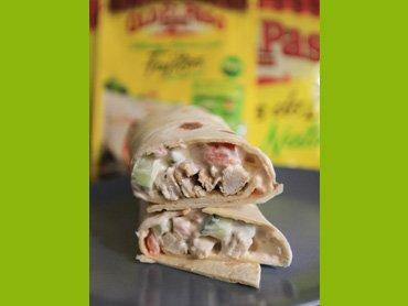 """"""" Wraps au Poulet Mexicain ( Plat Mexicain )-(Recette Spéciale Cuisine du Monde) """""""