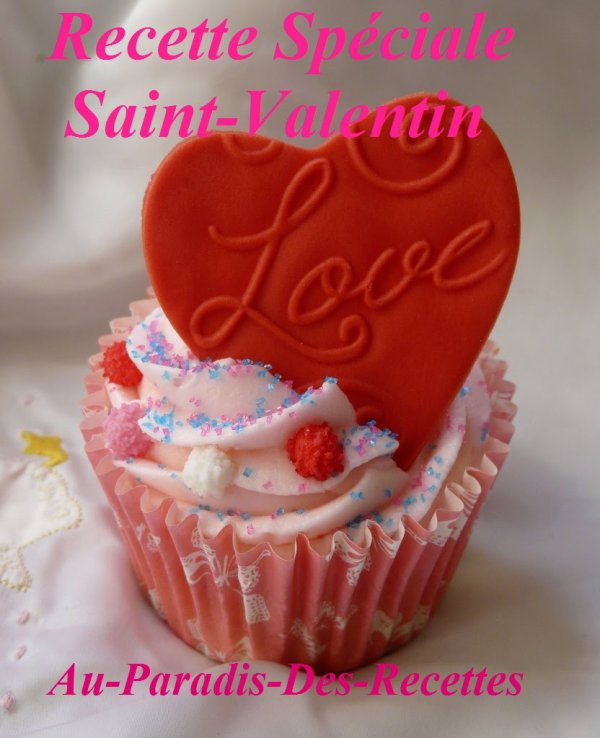 """ Cupcakes Chocolat & Fruits Rouges pour la Saint Valentin """