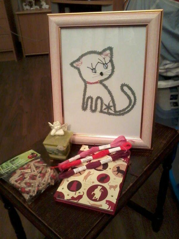 cadeau envoye a sarah