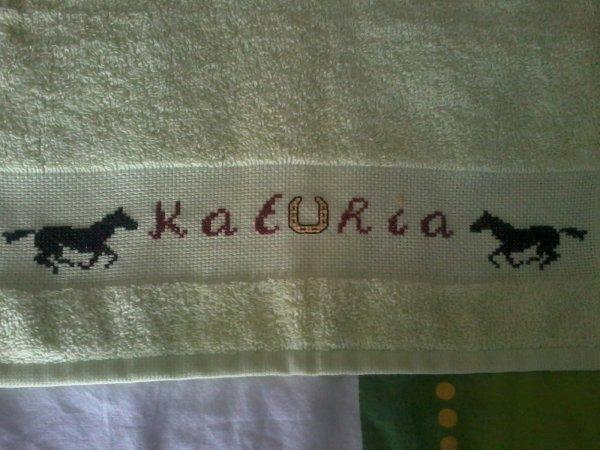 essuis mains avec le prenom de kathia