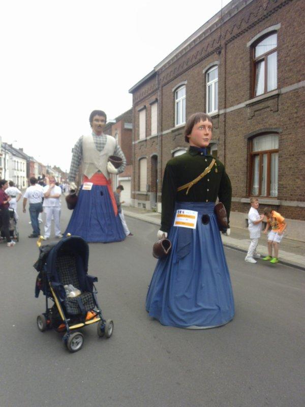 Géants de Soignies-Carrières