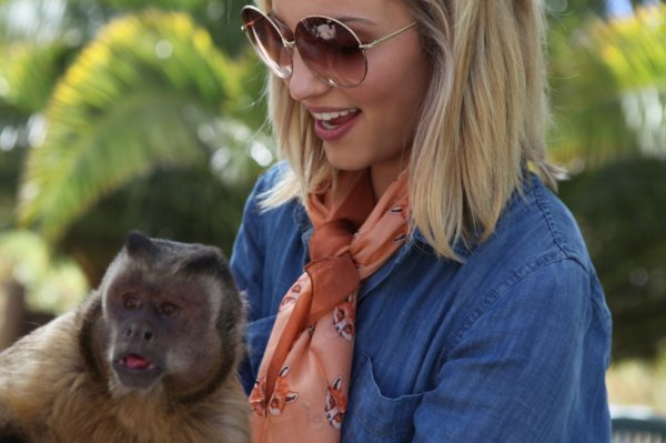 Twitter: Dianna and animals