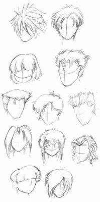Dessin Manga Les Cheveux Xxlove Mangaxx