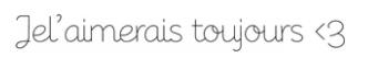 6 Mois Aujourd'hui ♥ !
